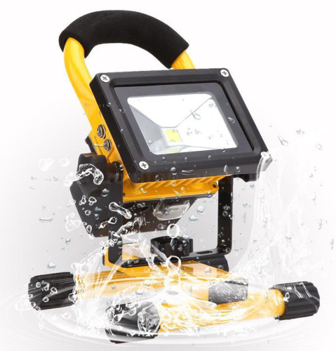 IP65 20w High Power 1400LM LED Flood Light Rechargeable Portable Outdoor Emergency LED Worklight