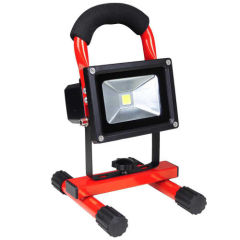 Cordless Rechargeable Led Flood Lights Lamp 10w Car Fishing Camping Lights