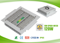 IP65 120w explosion proof LED canopy lights for gas station