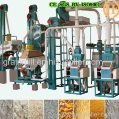 fully automatic corn maize grinding milling machine with price better sale