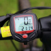 Bicycle Stopwatch Waterproof Bicycle Code Table Bicycle Computer and Odometer