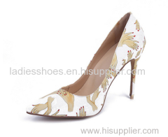 New style pointed toe stiletto heel pump shoes