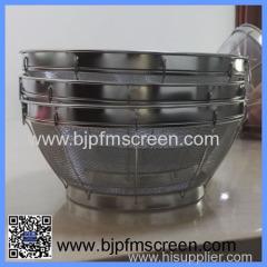 stainless steel mesh fruit basket