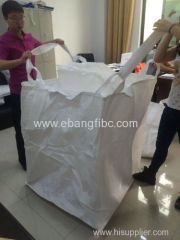 white PP bag for chemical powder