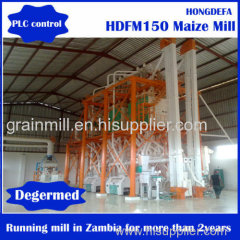 Corn grinding maize flour milling machine price 100ton Per Day