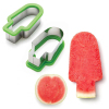 Plastic Watermelon slicer mold also for ice lolly shaping