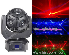 12*10W RGBW 4in1 led beam football moving head light