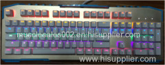 GM-203 led light keyboard/ whole sale/ 104 key/colorful backlight