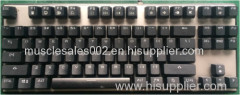 GM-207 led light keyboard/ whole sale/ 87 key/backlight