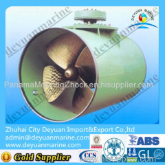 Fixed pitched marine propeller 5blade big develop area ratio propeller