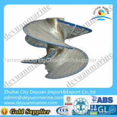 China 3 Blade fixed pitched marine propeller