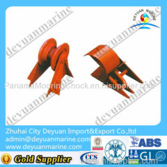 small size cast steel bar type anchor chain stopper