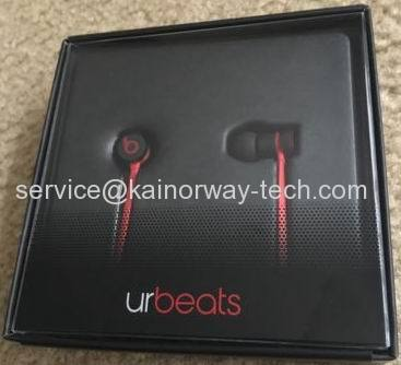 New Beats Urbeats2.0 In-Ear Wired Earphones With In-line Mic Black Red Special Edition