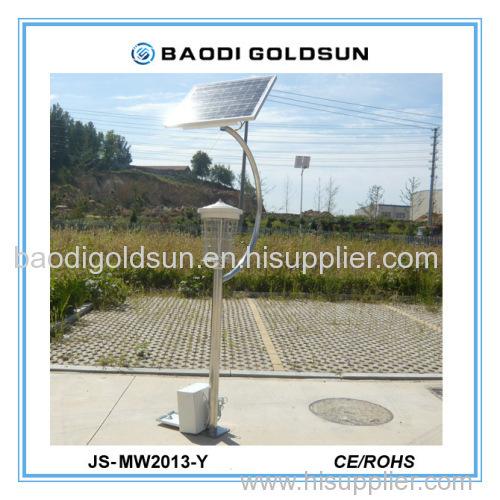 Solar mosquito killing lamp JS-MW2013-Y