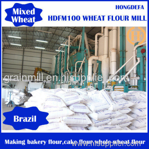 good quality and easy operation for wheat flour milling machine