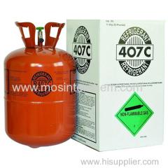 Refrigerante CAS 75-46-7 354-33-6 811-97-2 trifluorometano pentafluoroetano 1 1 1 2-tetrafluoroetano