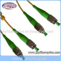 FC/APC to FC/APC Singlemode Simplex Fiber Optic Patch Cord/Patch Cable