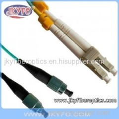 FC/PC to LC/PC Multimode OM3 10G Duplex Fiber Optic Patch Cord/Patch Cable