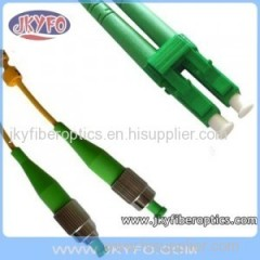 FC/APC to LC/APC Singlemode Duplex Fiber Optic Patch Cord/Patch Cable