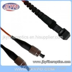 FC/PC to MTRJ Multimode Duplex Fiber Optic Patch Cord/Patch Cable