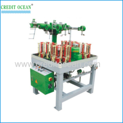 High speed round cord braiding machine