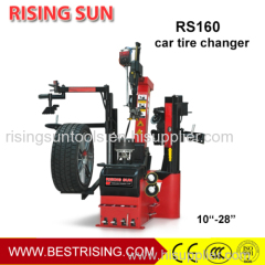 Double helper automatic tyre changing machine