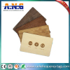 Conference Recycled Custom Printed Cards Wood Key RFID Business Card