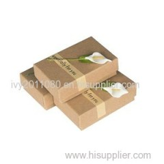 Kraft Paper Jewelry Box