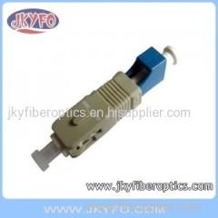 SC(M) Multimode-LC(F) Singlemode Fiber Hybrid Adaptor