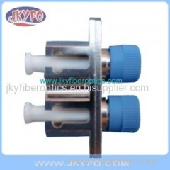 LC-FC Duplex Hybrid Fiber Optical Adapter LC to FC duplex adapter female to female metal housing
