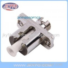 LC to FC Fiber Hybrid Adaptor female to female metal housing