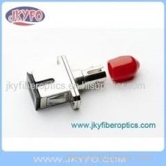 SC/PC-ST/PC SM Simplex Fiber Optical Adapter
