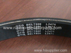 OTIS elevator parts Escalator V-Belt Length L2476