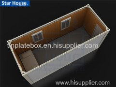 Flat pack single container house SH101 with CE CSA BV AS certificate