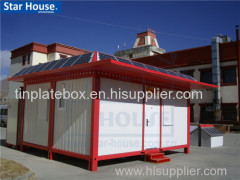 Foldable container house with CE CSA BV AS certificate