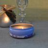 Round shape tinplate candle holder