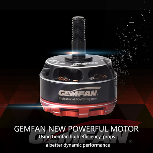 Gemfan 2205 KV2300 Brushless Motor for RC Racing Quad Helicopters