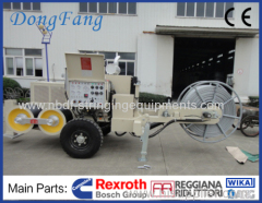 500 KV Transmision Line Stringing Equipment of 18 Ton Puller with 16 Ton Tensioner