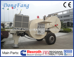 16 Ton Overhead Transmission Line Hydraulic Tensioner for Four conductors stringing on 500KV power line
