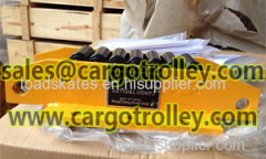 CT Crawler type roller skids details with price list