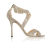 Snake texture women high heel shoes