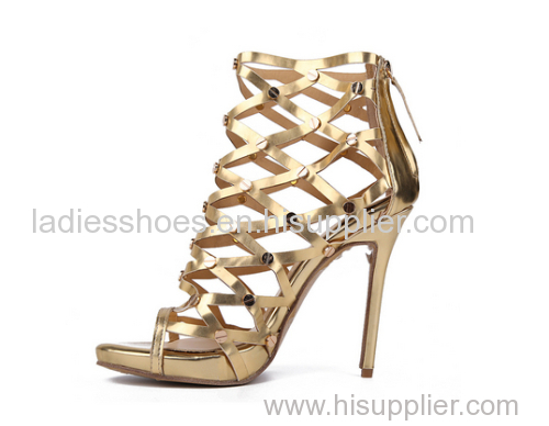 Fashion Roman high heel shoes