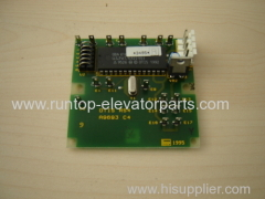 OTIS elevator parts small PCB RS4