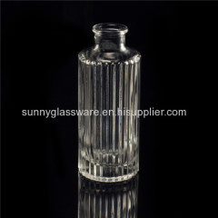 empty clear glass reed diffuser bottles