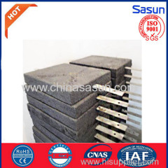 Earthing graphite Module Lightning protection block chart Shaped
