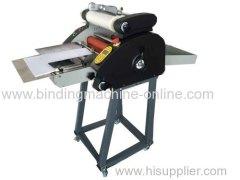 Automatic paper feeder roller laminator