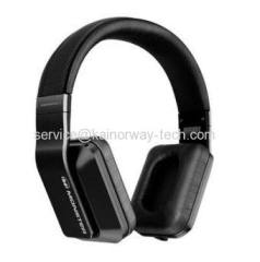 New Monster Inspiration Active Noise Canceling Over-Ear Headband Headphones Black