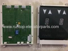 OTIS elevator parts indicator PCB XBA23550B1