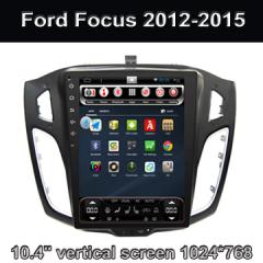 10.4 Inch Gps Radio Bluetooth Car Kit Ford Focus 2012-2015 Supplier