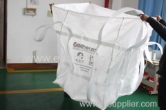4 Loops FIBC Jumbo Bags for Magnesite Powder